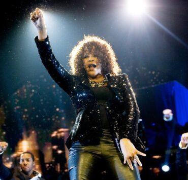Whitney Houston Performs At The O2 Arena
