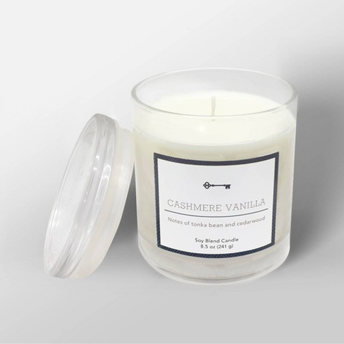 Cashmere Vanilla candle made by Target's Threshold brand