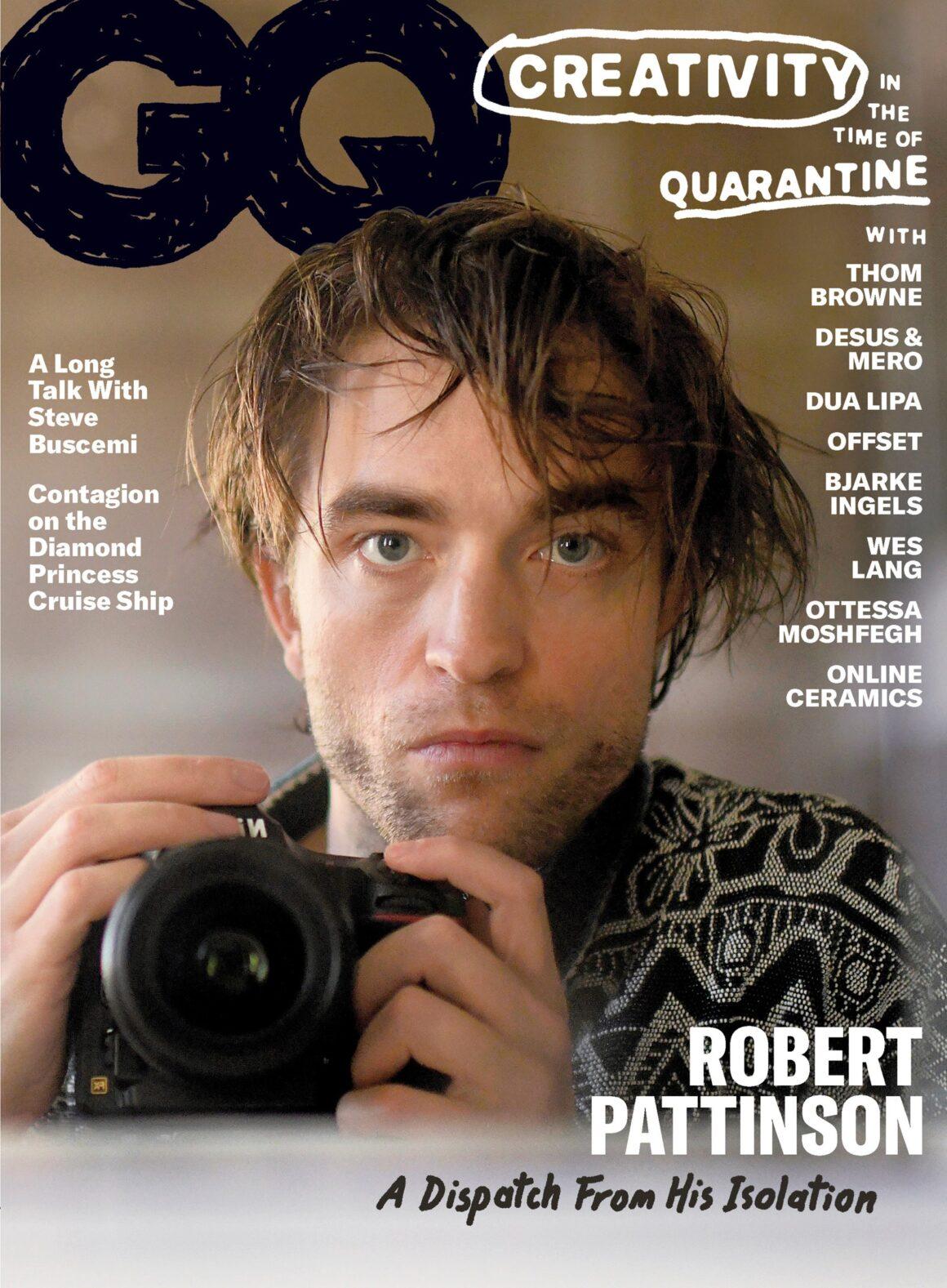 Robert Pattinson GQ