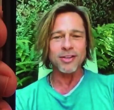 Brad Pitt Video Message