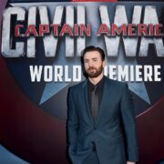 "Chris Evans Premiere Of Marvel's ""Captain America: Civil War"" - Red Carpet"
