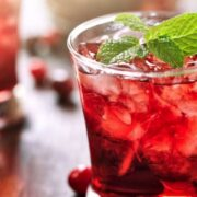Cranberry Gin and Tonic