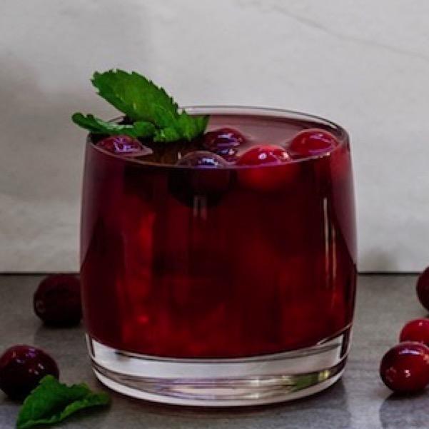 Cranberry Gin & Tonic