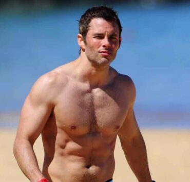 James Marsden Hits The Beach In Maui