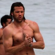 "Jared Padalecki ""Supernatural"" at the beach in Rio"