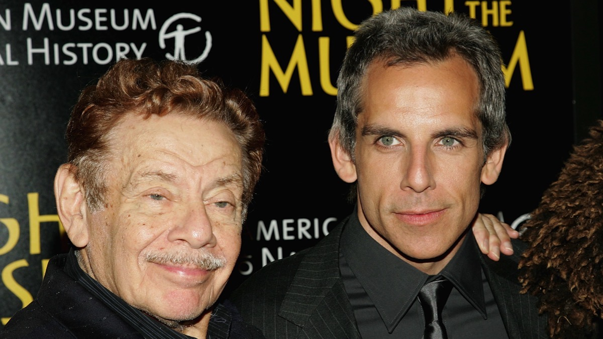 Jerry and Ben Stiller