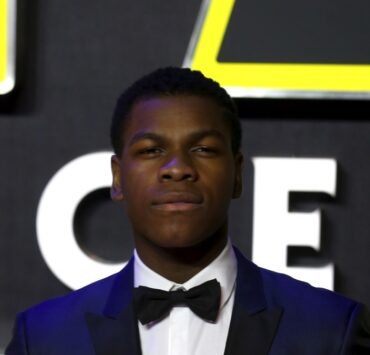 "John Boyega ""Star Wars: The Force Awakens"" - European Film Premiere - Red Carpet Arrivals"