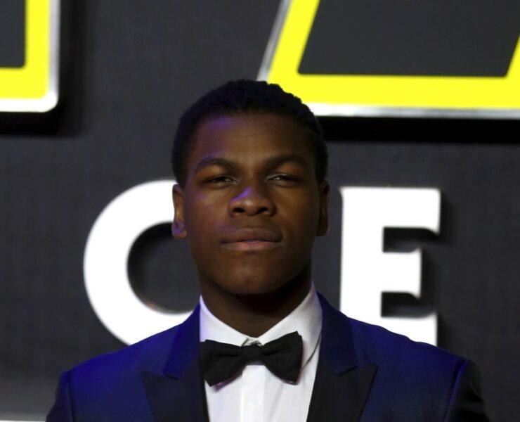 """John Boyega """"Star Wars: The Force Awakens"""" - European Film Premiere - Red Carpet Arrivals"""