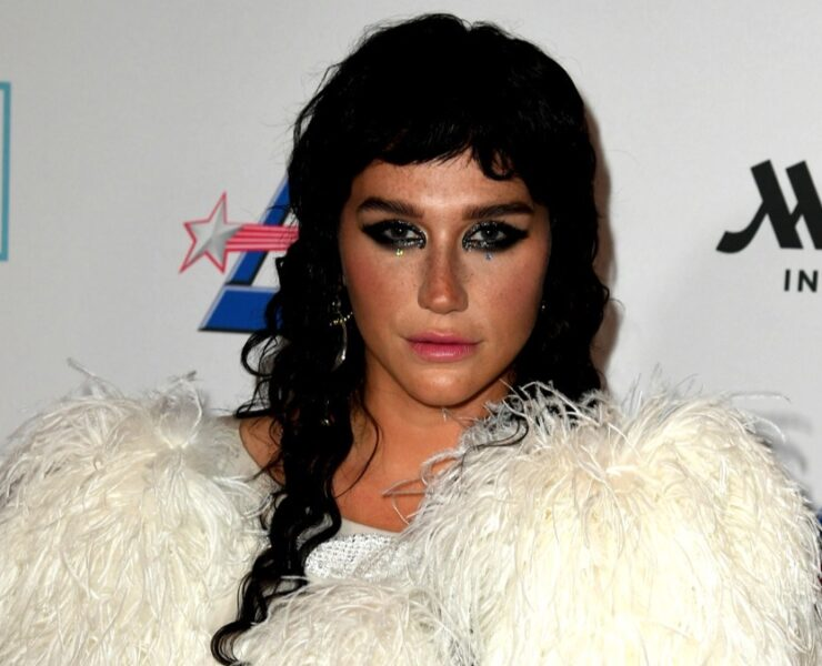 Kesha at Cyndi Lauper And Friends: Home For The Holidays Benefit