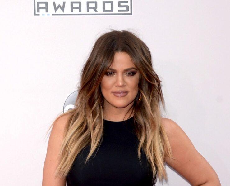 Khloe Kardashian at the 2014 American Music Awards - Arrivals