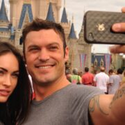 Megan Fox And Brian Austin Green Visit Disney World