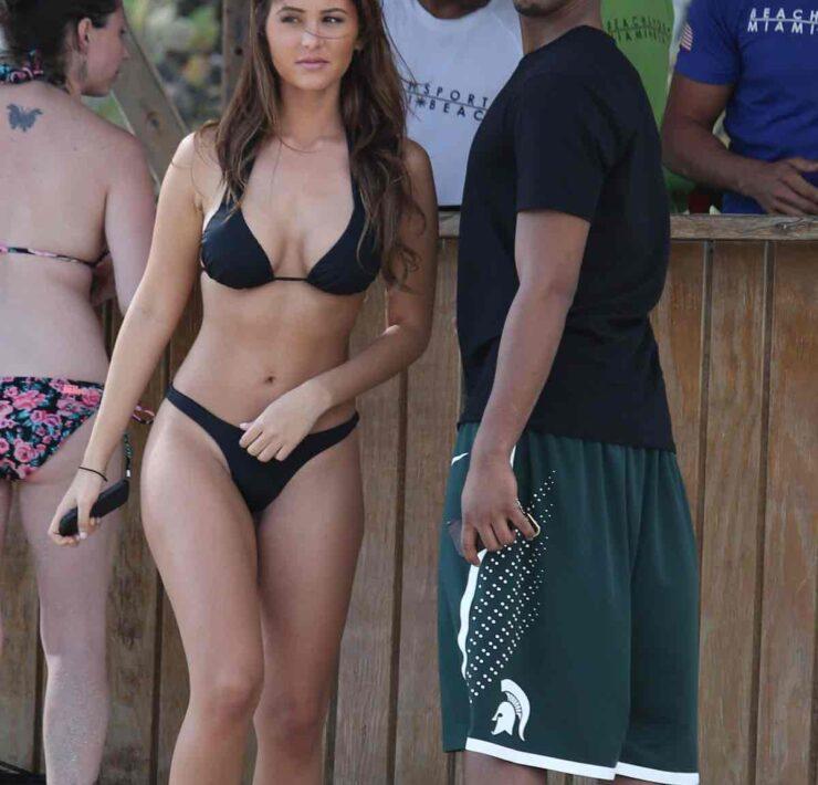 Michael B. Jordan Hits the Beach in Miami