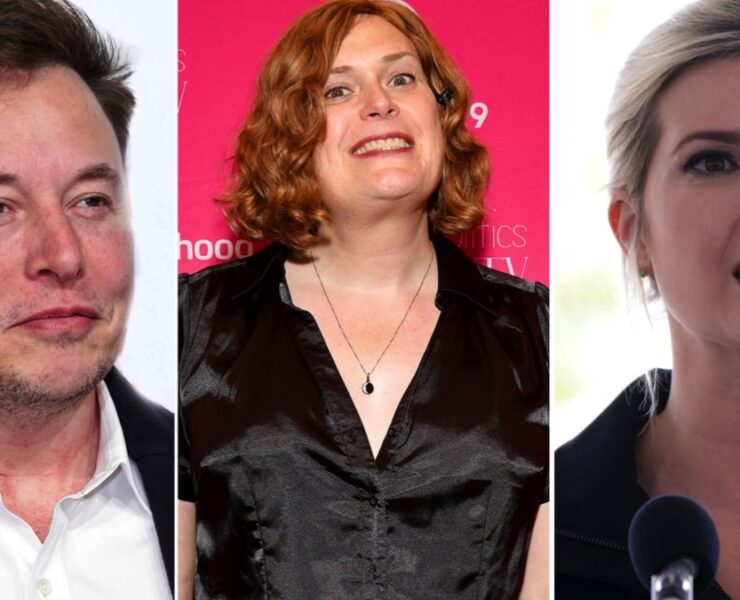 Elon Musk Lilly Wachowski and Ivanka Trump
