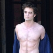 Robert Pattinson Is Shirtless In Italy