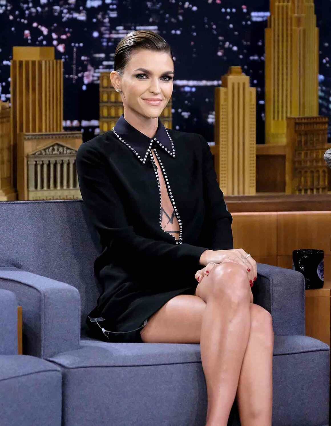 """Ruby Rose Visits """"The Tonight Show Starring Jimmy Fallon"""""""