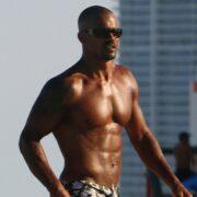 Shemar Moore Enjoys Some Patron in Miami Beach