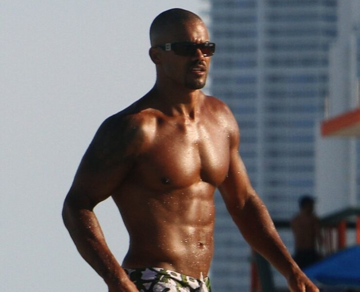 Shemar Moore Enjoys Some Patron in Miami Beach