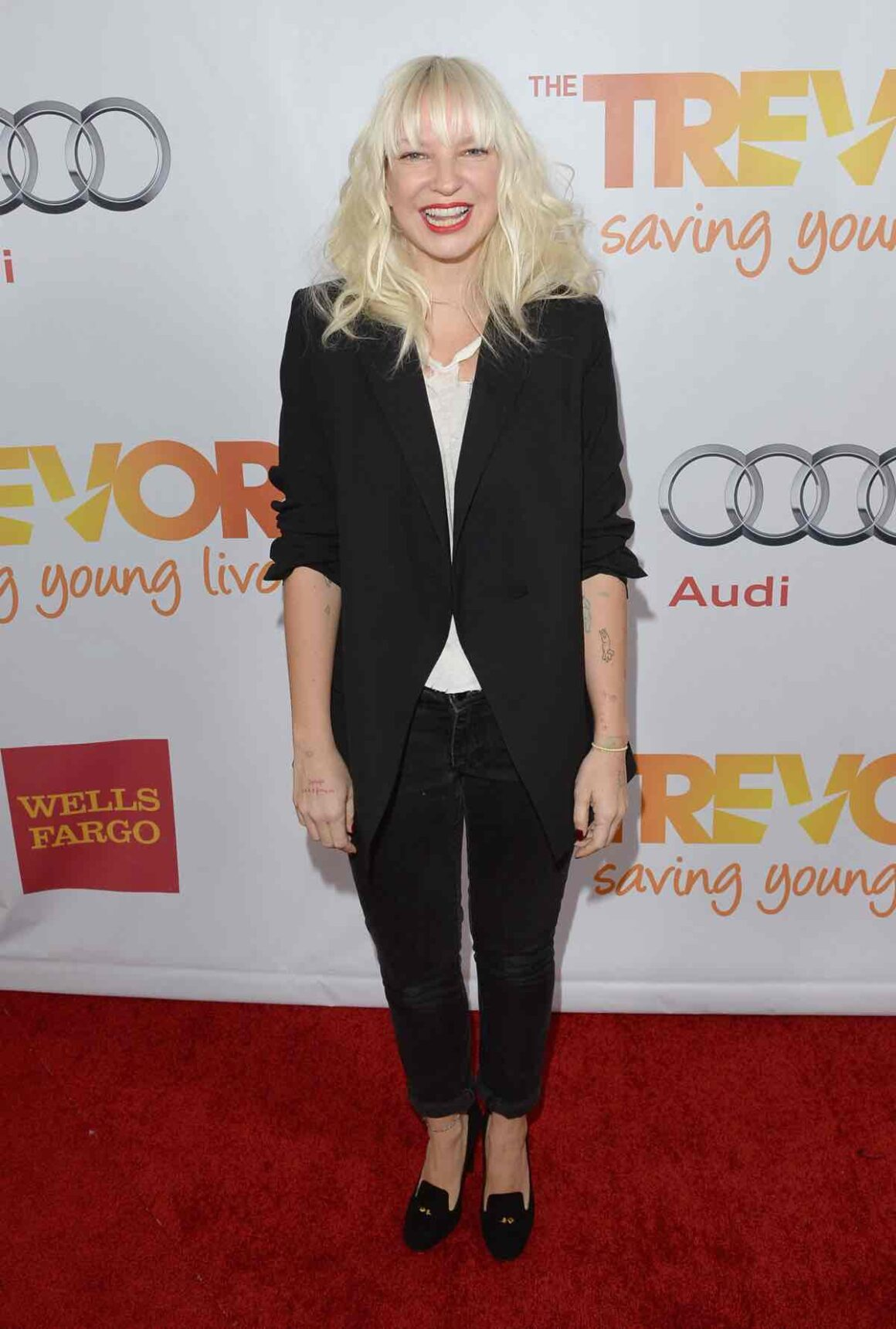 "Sia ""TrevorLIVE LA"" Honoring Jane Lynch And Toyota For The Trevor Project - Red Carpet"