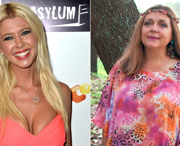 Tara Reid and Carole Baskin