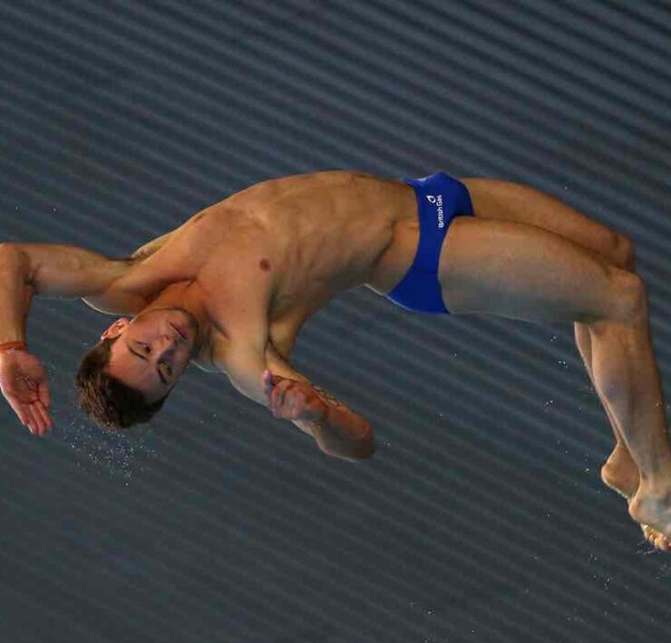 Tom Daley FINA/NVC Diving World Series 2014 - Day Three