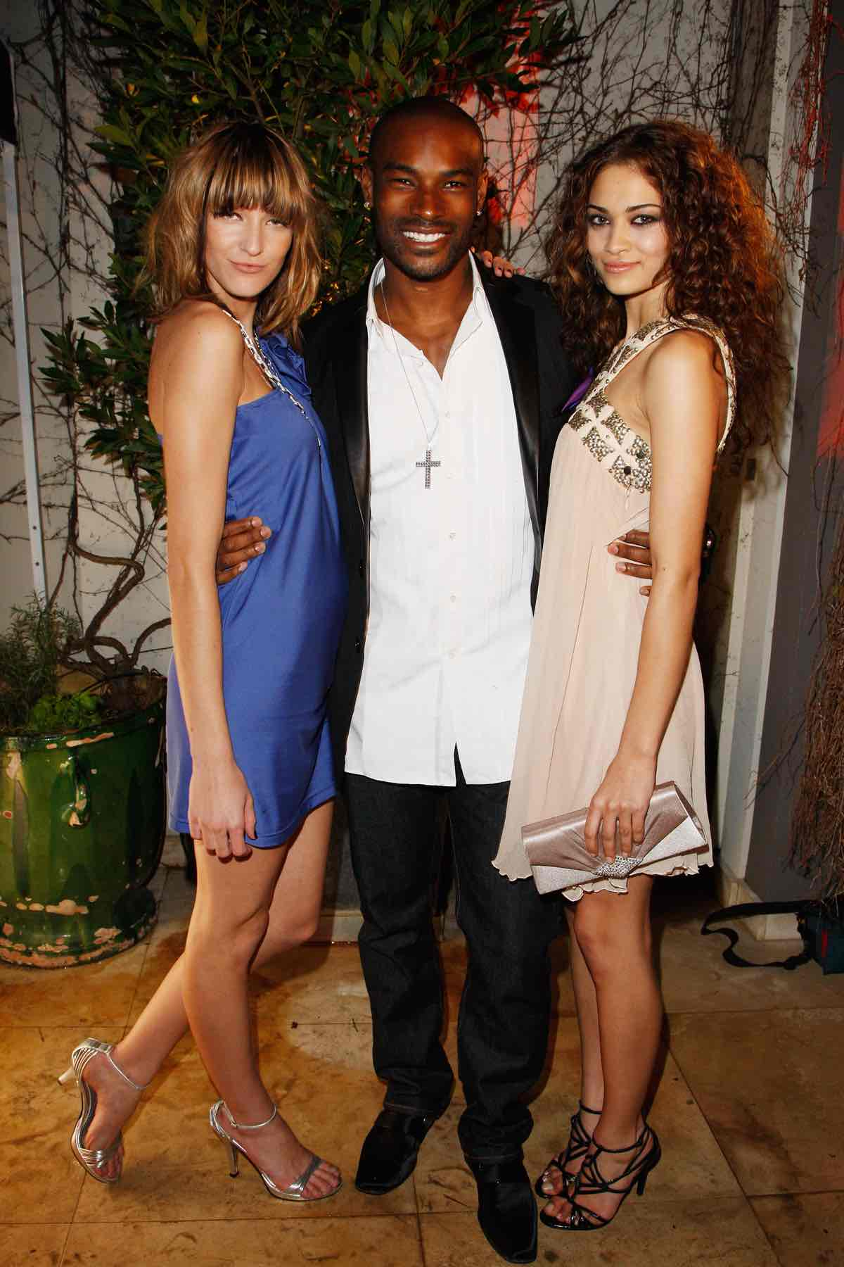 Tyson Beckford at the Marie Claire Fashion with Heart Cocktail Party