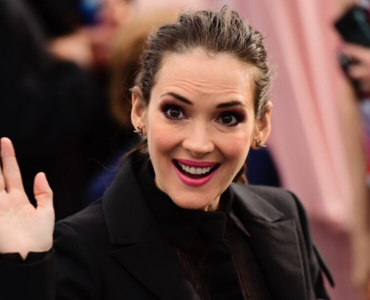 Winona Ryder at the 26th Annual Screen Actors Guild Awards - Fan Bleachers
