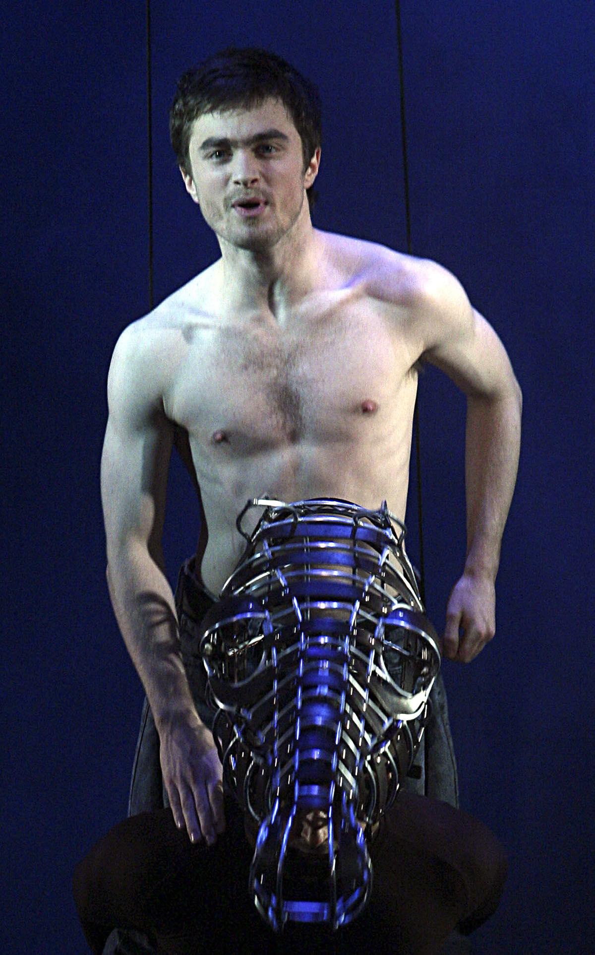 Radcliffe in 'Equus'