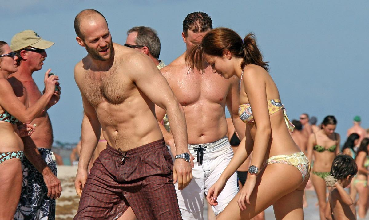Statham's Star Physique