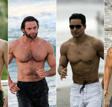 Shirtless Male Celebrities