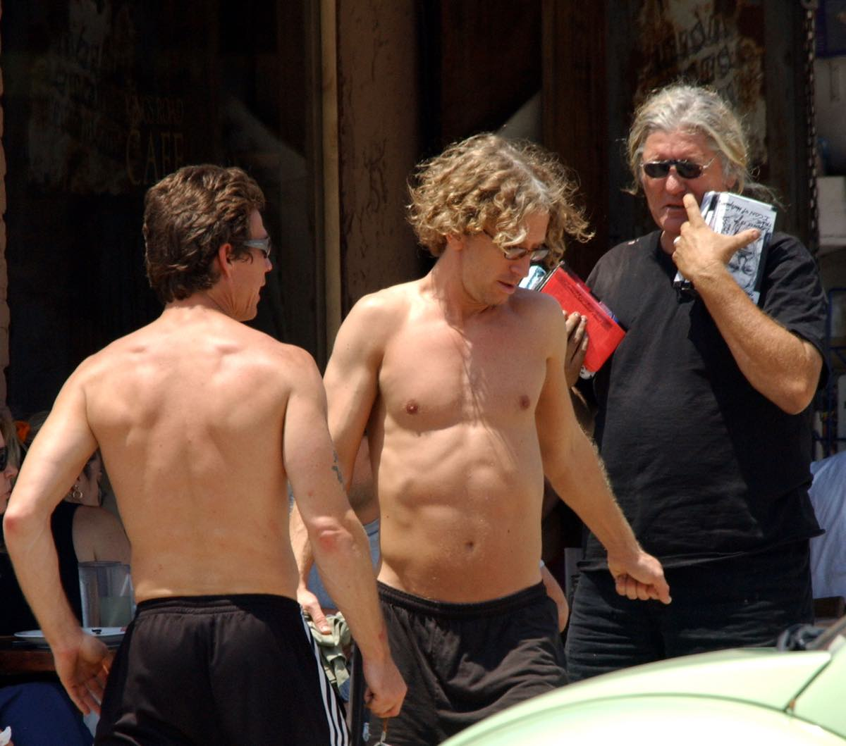 Andy Dick Topless