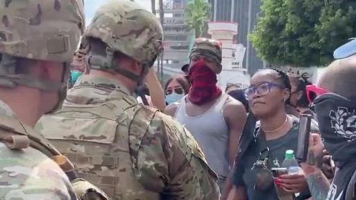 Keke Palmer LA Protests