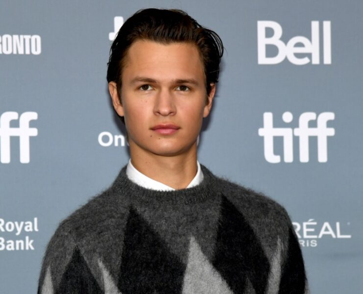 """Ansel Elgort attends 2019 Toronto International Film Festival - """"The Goldfinch"""" Press Conference"""