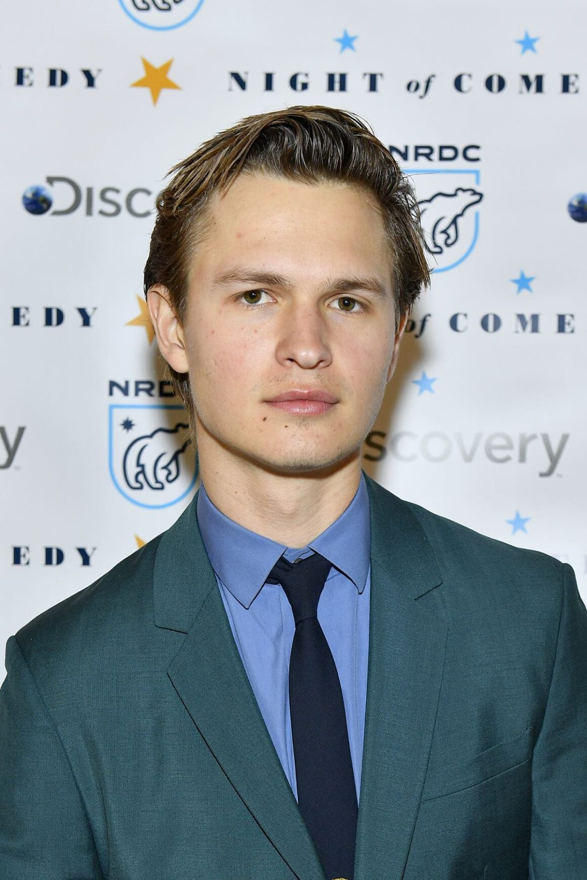 """Ansel Elgort attends The Natural Resources Defense Council Presents """"Night Of Comedy"""" Benefit, In Partnership With Discovery, Inc."""