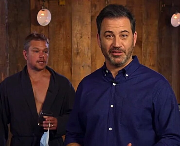 Jimmy Kimmel and Matt Damon