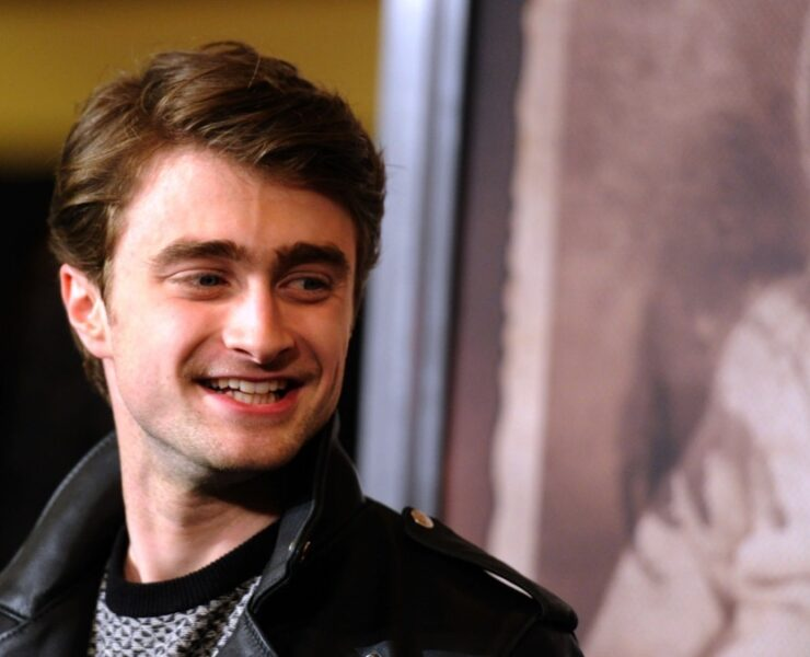 "Daniel Radcliffe attends the Premiere Of CBS Films' ""The Woman In Black"" - Arrivals"