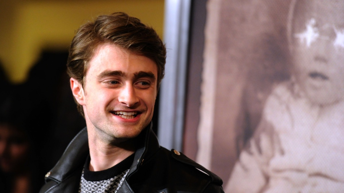 """Daniel Radcliffe attends the Premiere Of CBS Films' """"The Woman In Black"""" - Arrivals"""