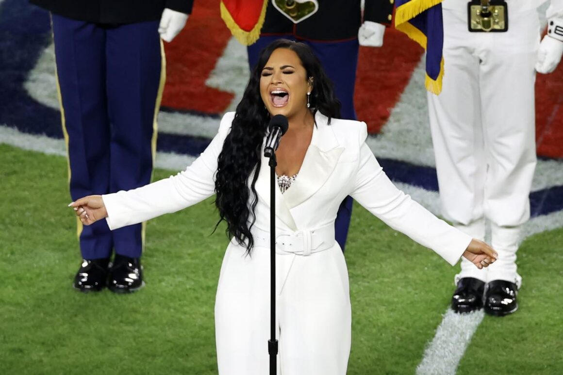 Demi Lovato Super Bowl LIV - San Francisco 49ers v Kansas City Chiefs