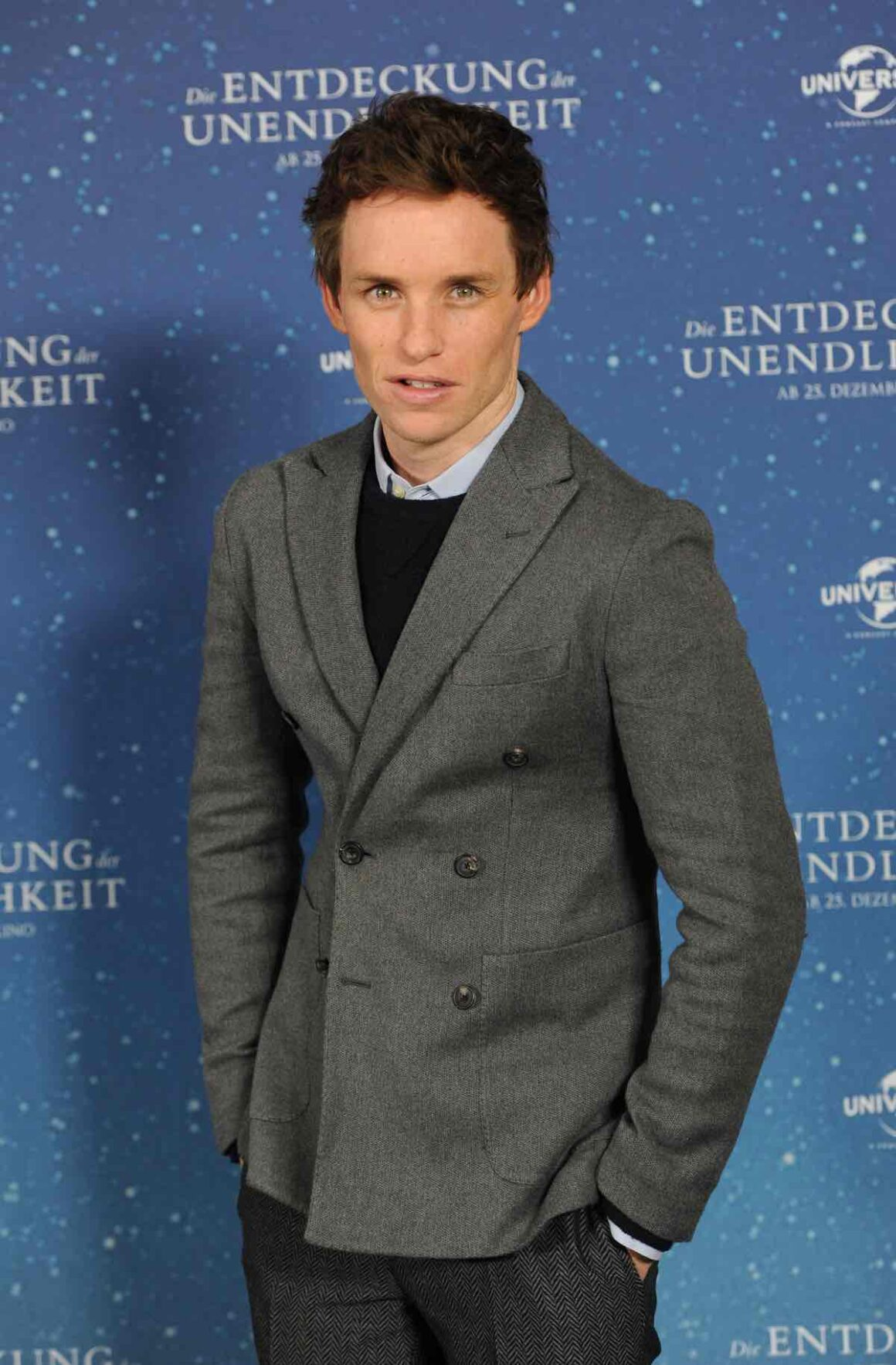 Eddie Redmayne attends 'The Theory of Everything' Photocall In Munich