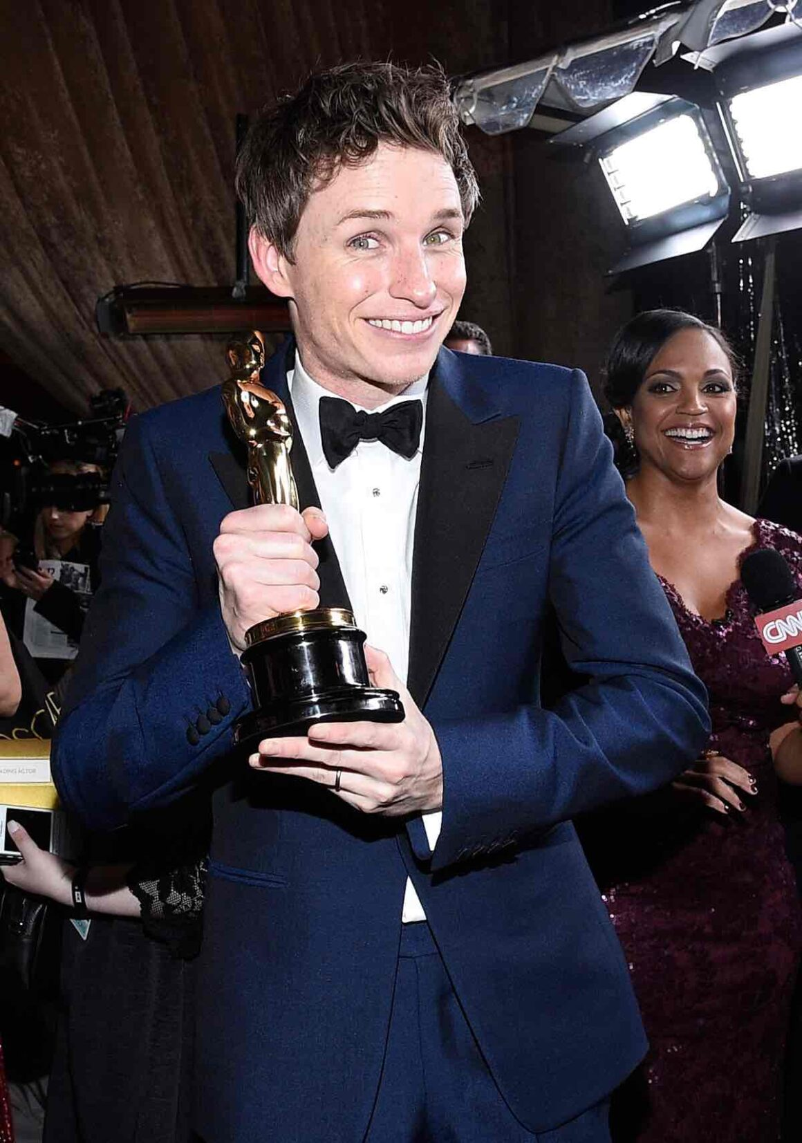 Eddie Redmayne attends 87th Annual Academy Awards - Governors Ball