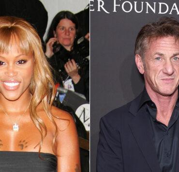 Eve and Sean Penn