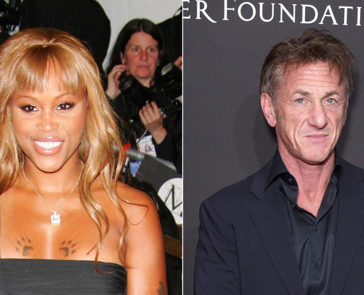 Eve and Sean Penn