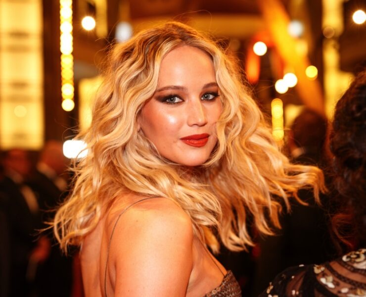 Jennifer Lawrence attends the 90th Annual Academy Awards - Red Carpet