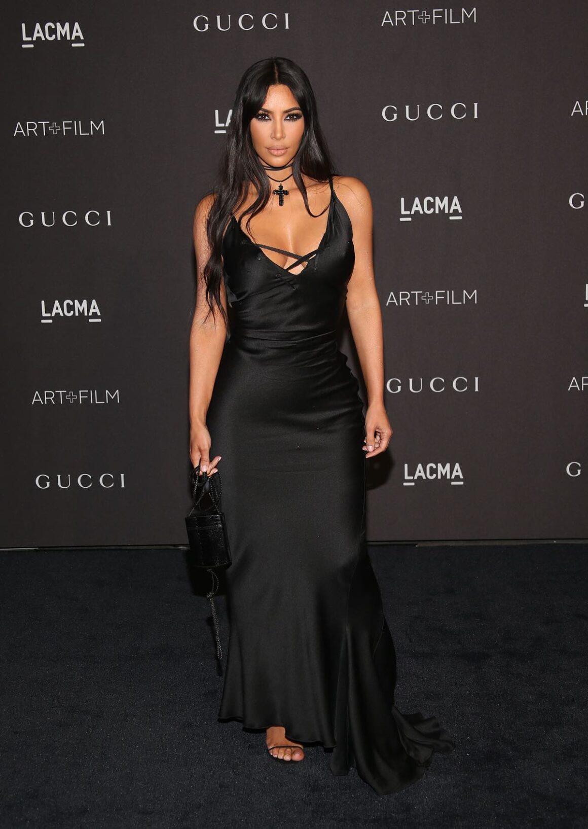 Kim Kardashian attends 2018 LACMA Art + Film Gala - Arrivals