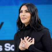Kim Kardashian attends 2019 New York Times Dealbook