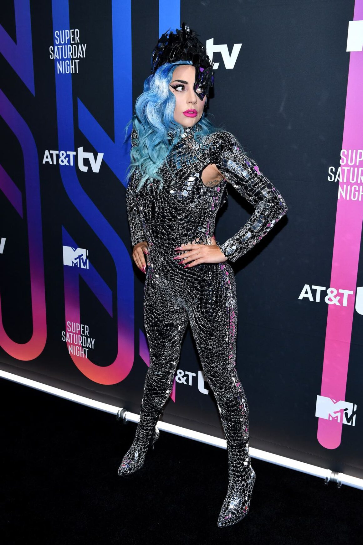 Lady Gaga attends AT&T Super Saturday Night - Arrivals