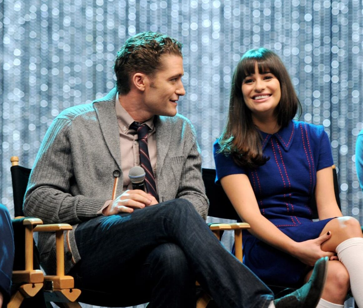 "Matthew Morrison and Lea Michele ""GLEE"" 300th Musical Performance Special Taping"