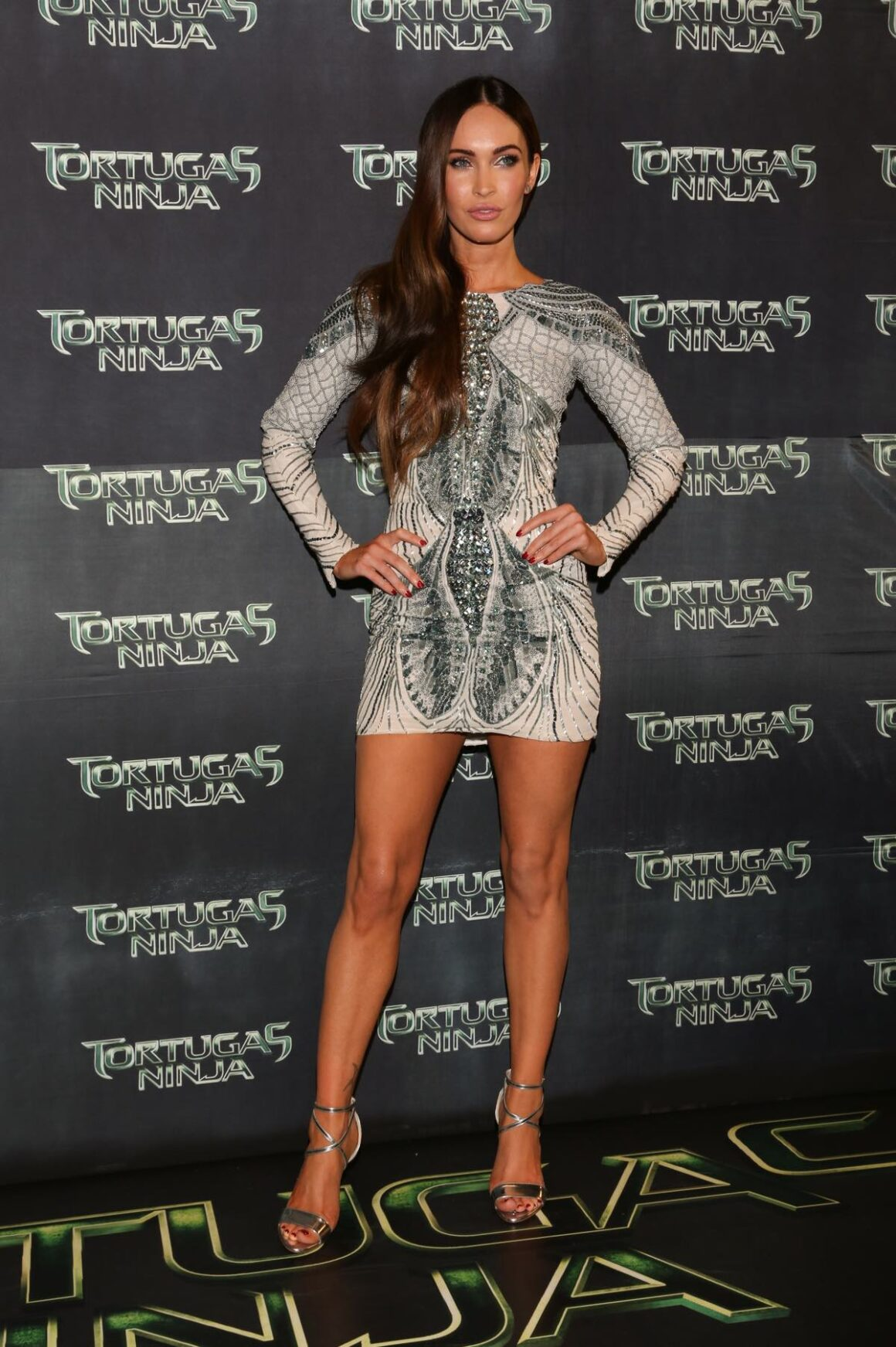 Megan Fox attends Teenage Mutant Ninja Turtles Premiere in Mexico
