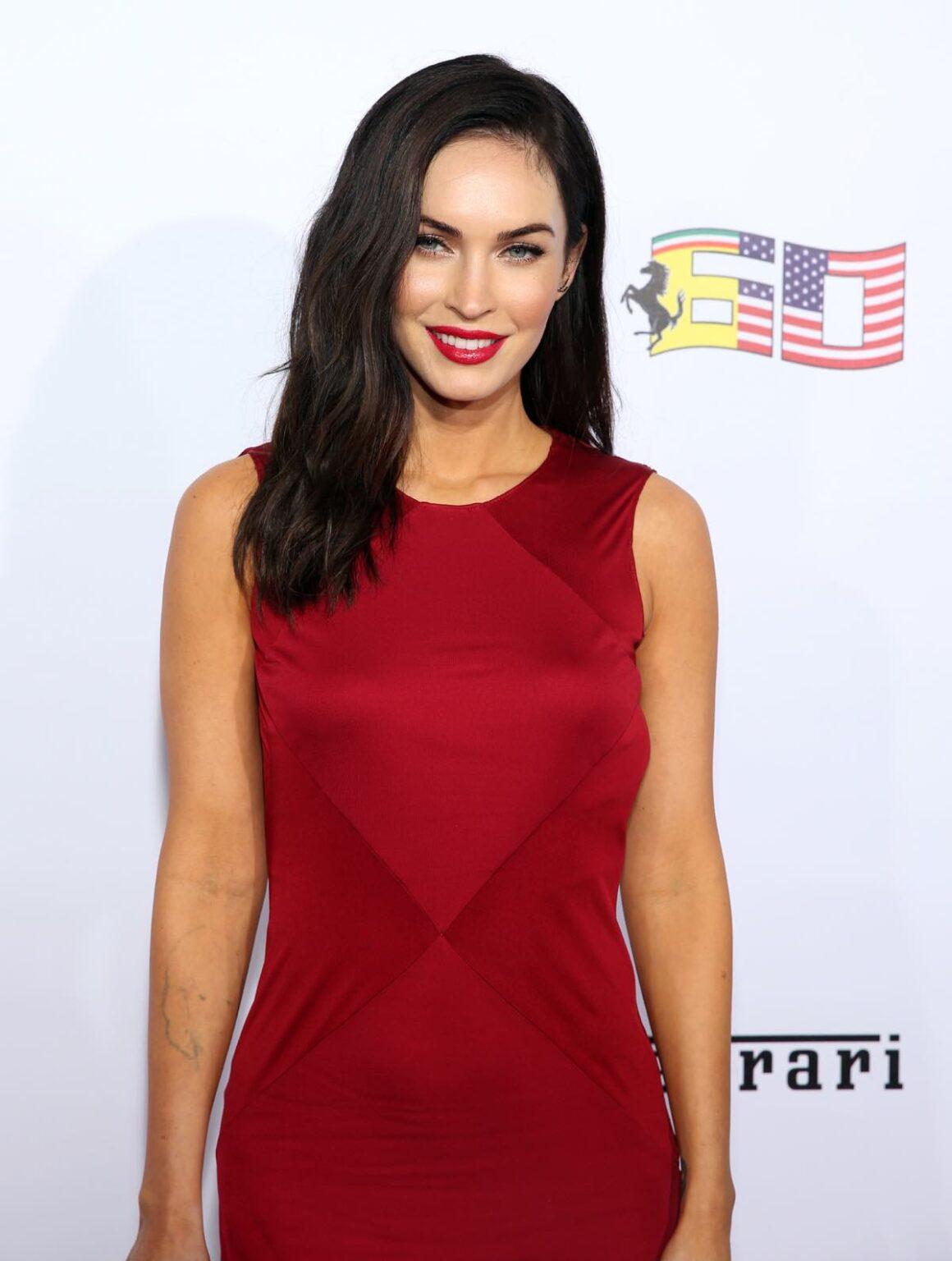 Megan Fox attends Ferrari Celebrates 60 Years In America