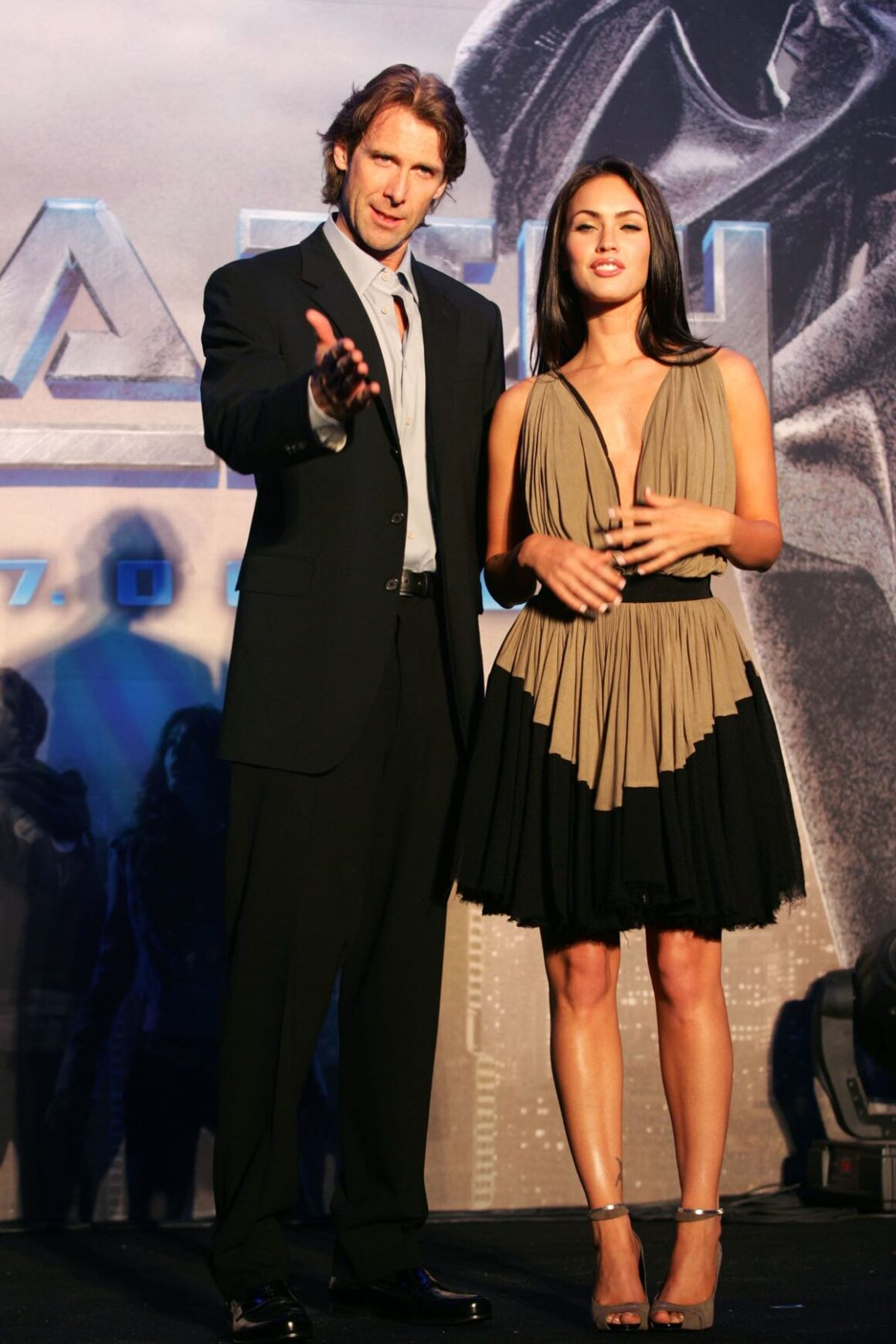 """Michael Bay and actress Megan Fox """"Transformers"""" Press Conference In Seoul"""