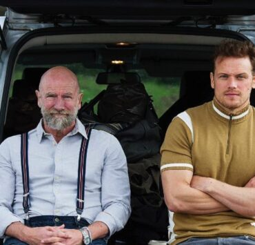 Sam Hueghan and Graham McTavish Are 'Men in Kilts'